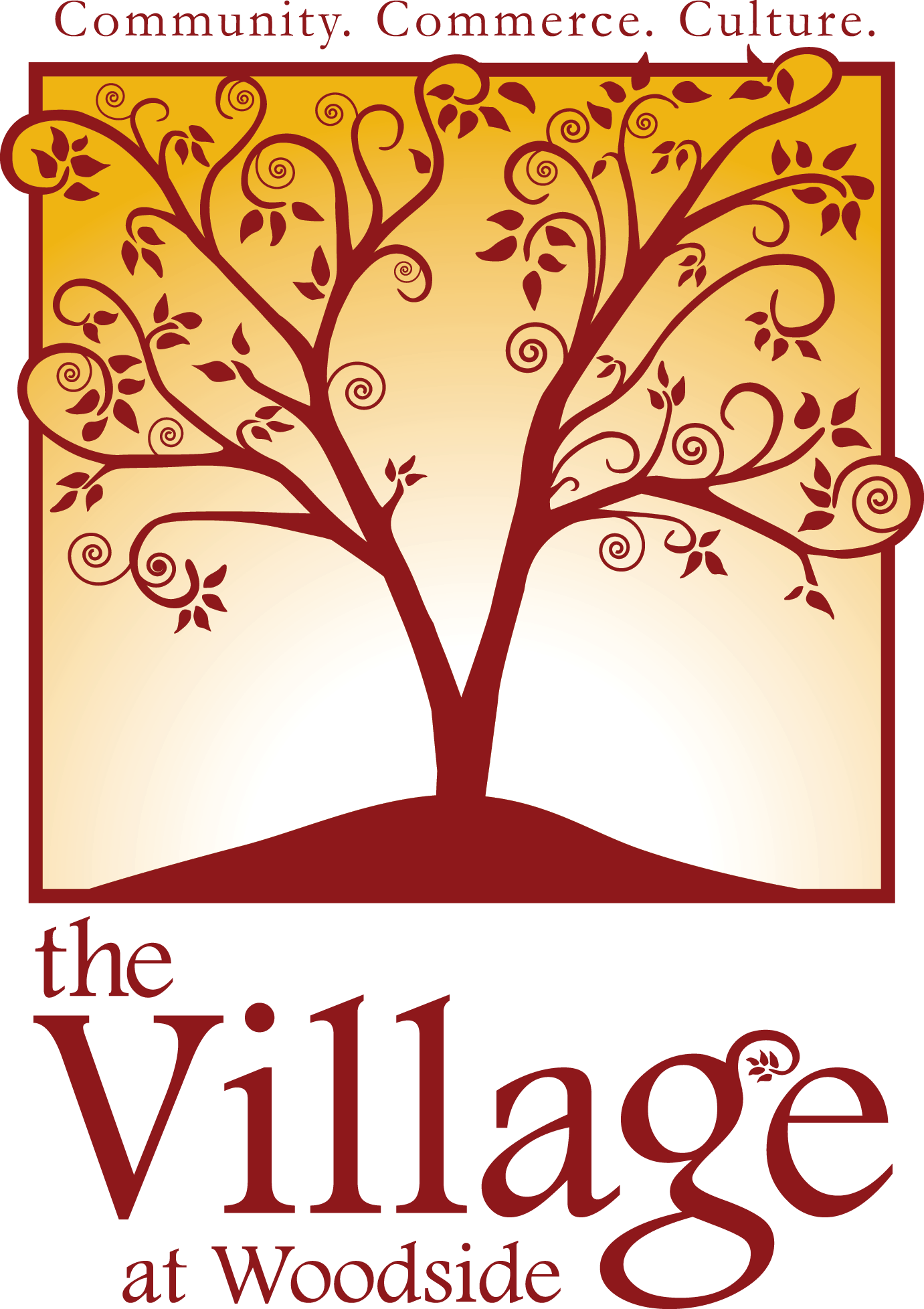 The Village at Woodside Retina Logo